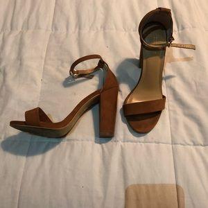 Wedge sandal heel